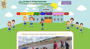 Web Design for Carbrooke School