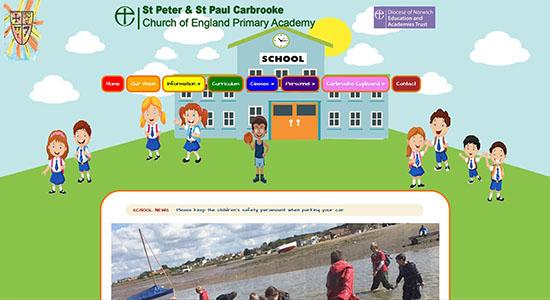 Carbrooke School - CWD-Portfolio