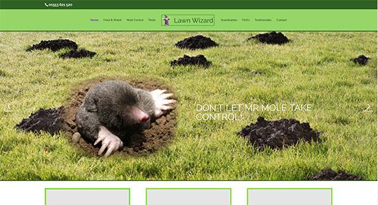 Lawn Wizard - CWD-Portfolio