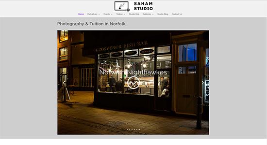 Saham Studio - CWD-Portfolio