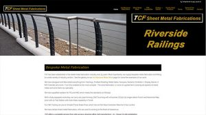 Web Design for TCF Sheet Metal