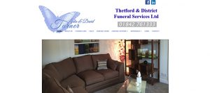 Web Design for Thetford Funeral Service