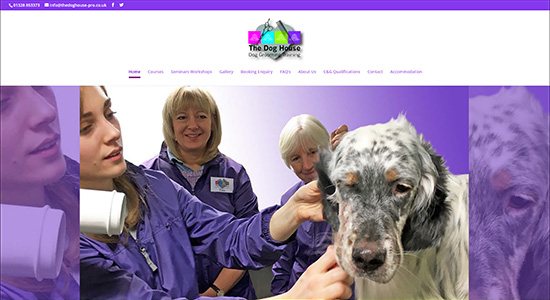 The Dog House Protrain - Caston Web Designs Portfolio