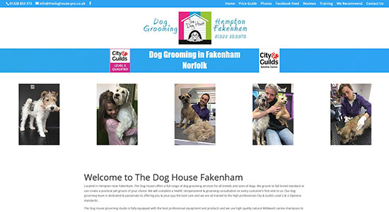 The Dog House Pro - Caston Web Designs Portfolio