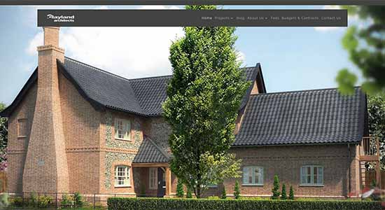 Clayland Architects - Caston Web Designs Portfolio