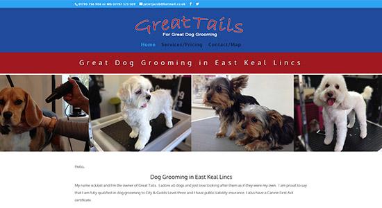 Great-Tails - Caston Web Designs Portfolio