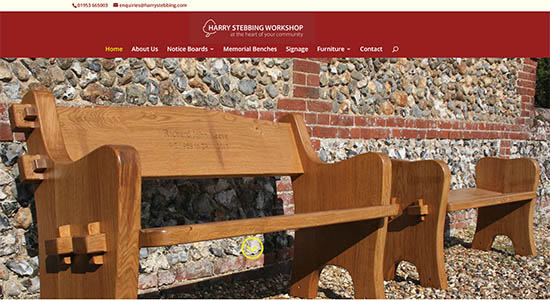 Harry Stebbing Workshop - Caston Web Designs Portfolio