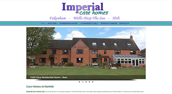 Imperial Care Homes - CWD-Portfolio