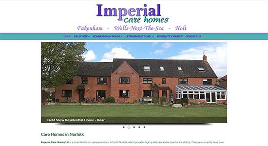Imperial Care Homes - CWD-Portfolio