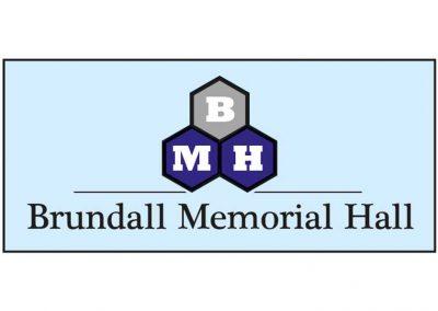 Caston Web Designs - Brundall Memorial Hall Logo
