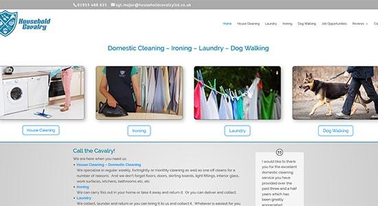 Household Cavalry - Caston Web Designs Portfolio