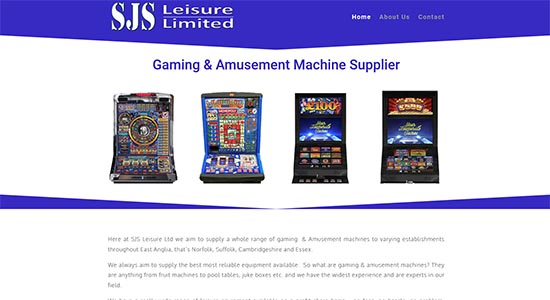 SJS Leisure - Caston Web Designs Portfolio