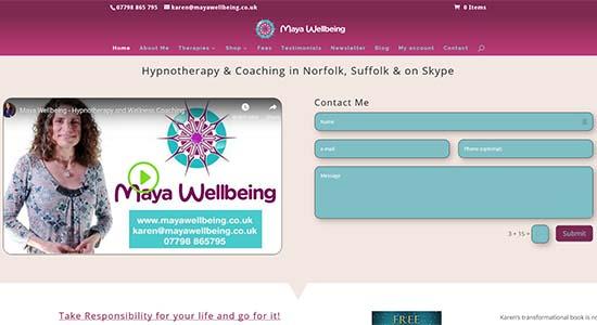 Maya Wellbeing - CWD-Portfolio